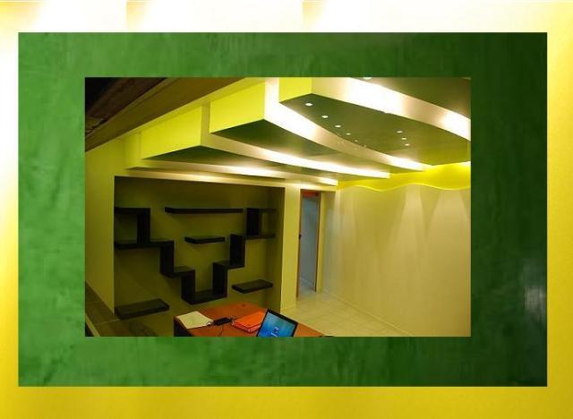 Κρυφός φωτισμός  σε Τρία επίπεδα οροφών και ξεχωριστών διακοσμήσεων