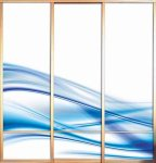 ΝΤΟΥΛΑΠΕΣ Ντουλάπα, με γυάλινες, συρόμενες πόρτες (25)