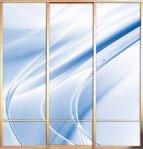 ΝΤΟΥΛΑΠΕΣ Ντουλάπα, με γυάλινες, συρόμενες πόρτες (6)