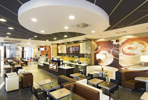 McDonald's, Οροφες - ορυκτες ινες.Café
